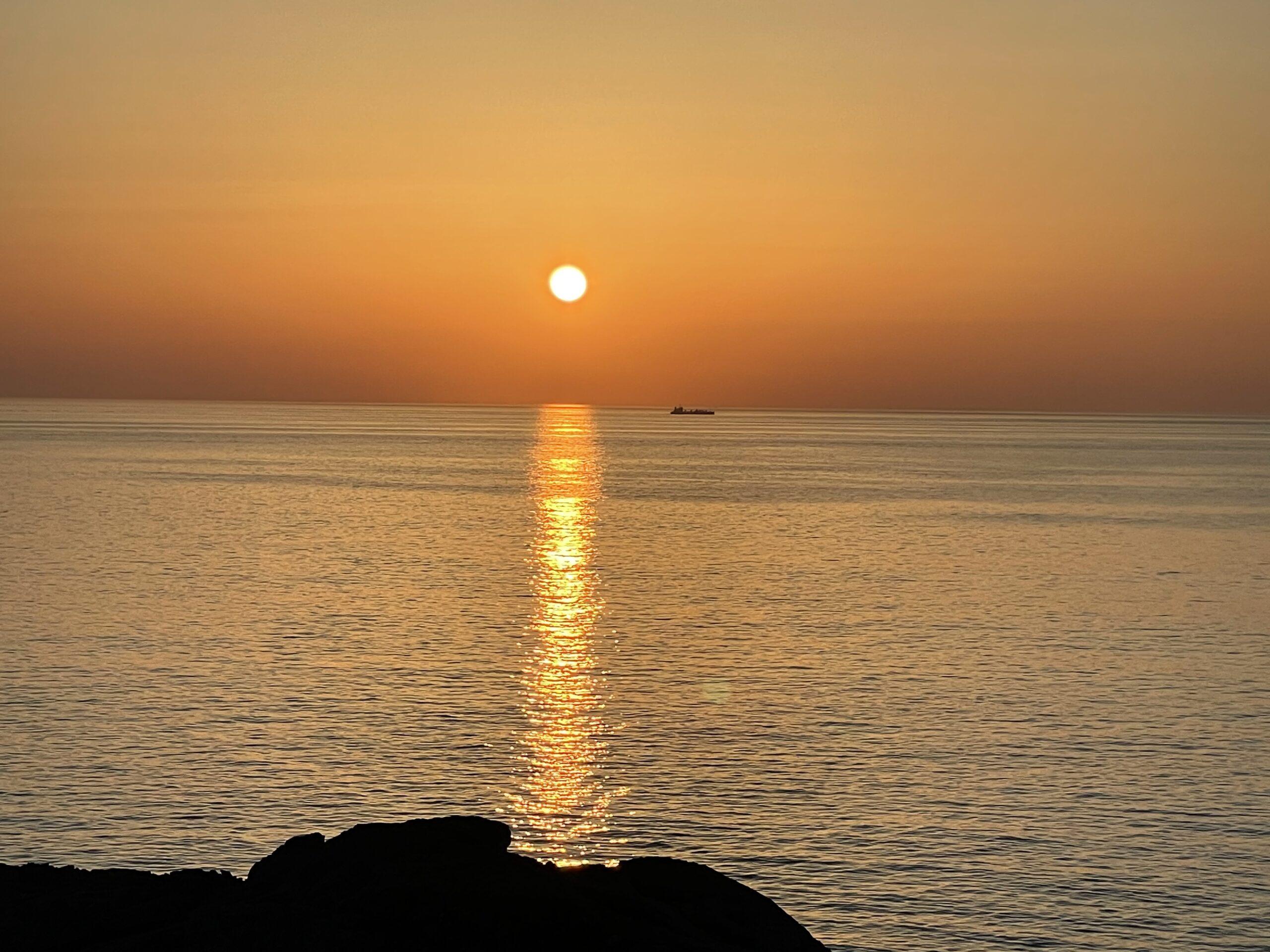 本州最東端の日の出